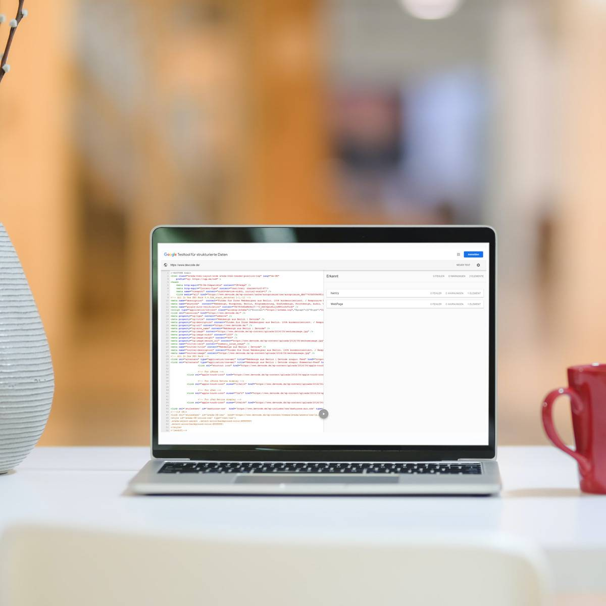 Strukturierte Daten - Webdesign Berlin - Devcode